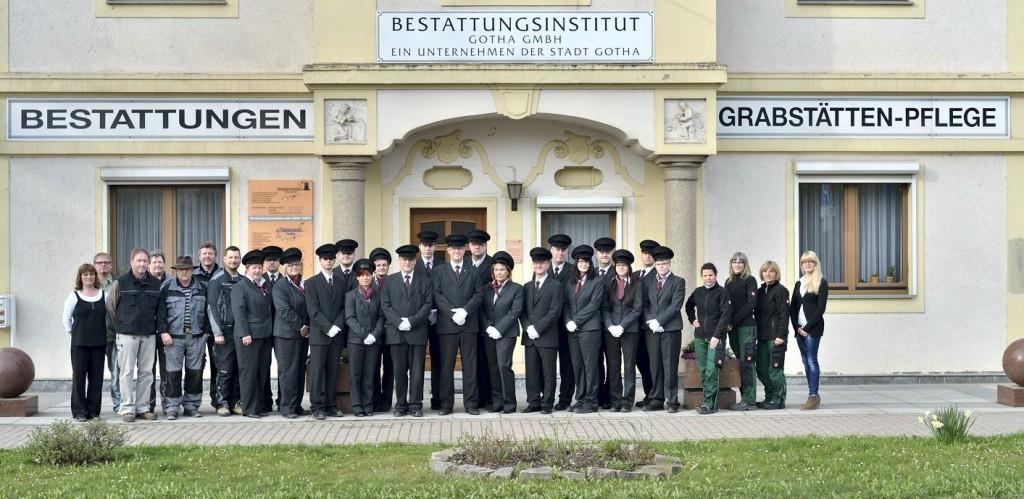 Das Team der Bestattungsinstitut Gotha GmbH.