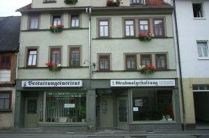 Bestattungsinstitut Gotha GmbH, Filiale Friedrichroda