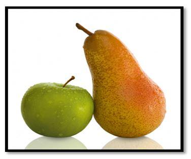 Folge 6 der Info-Reihe:   Nicht Äpfel mit Birnen vergleichen !!!