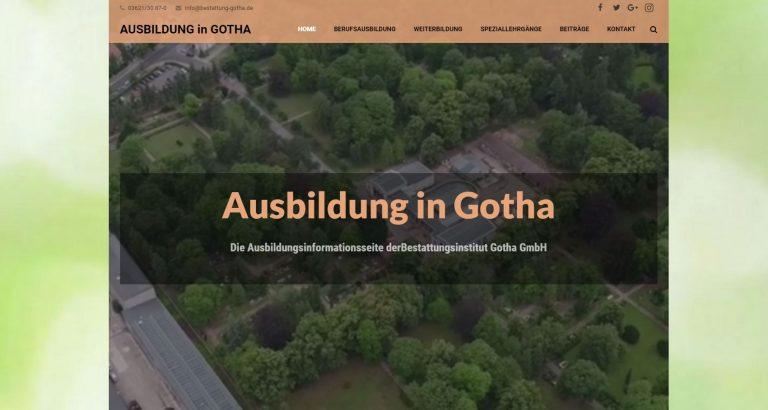 """""""Ausbildung-Gotha"""" ist online"""