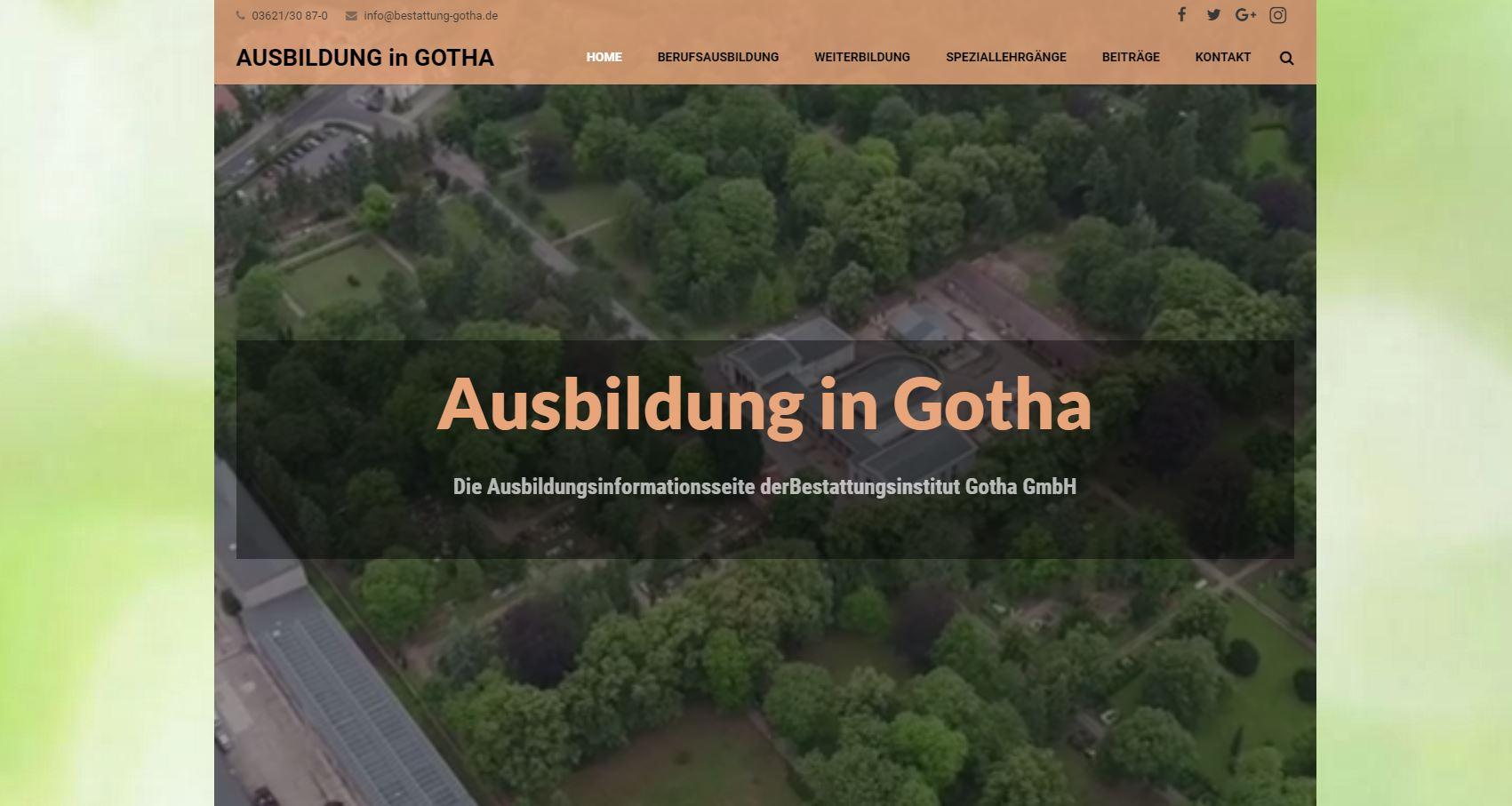 Ausbildung in Gotha
