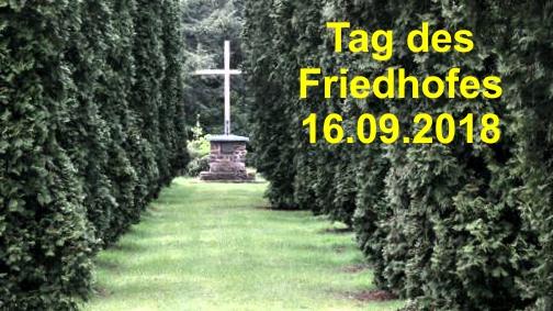 16.09.2018 - Tag des Friedhofes